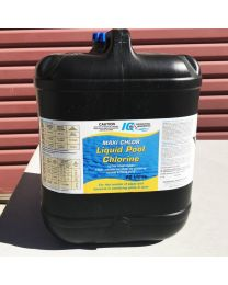 20LTR LIQUID CHLORINE + DRUM